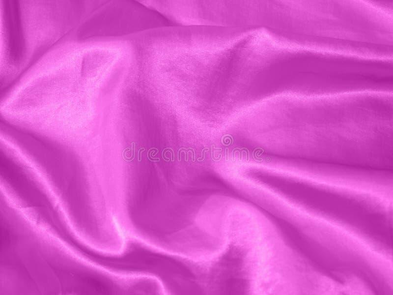 Siden- textur för purpurfärgad satäng royaltyfria foton