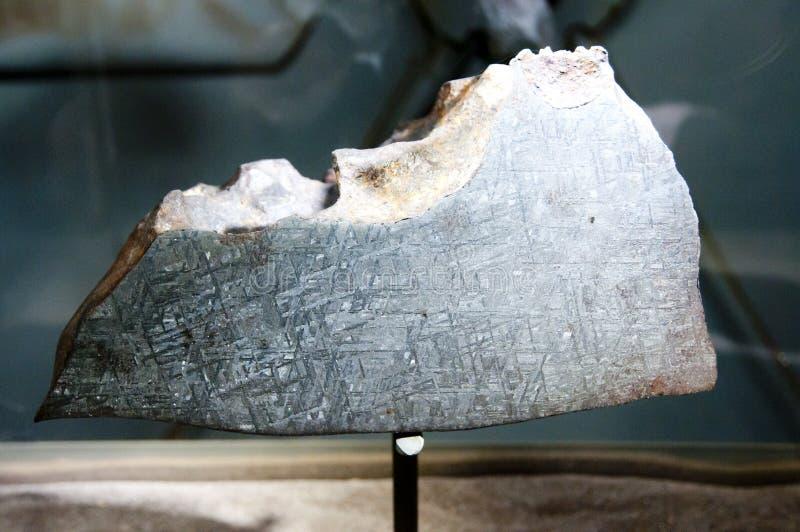 Siderit-Meteorit stockfotos