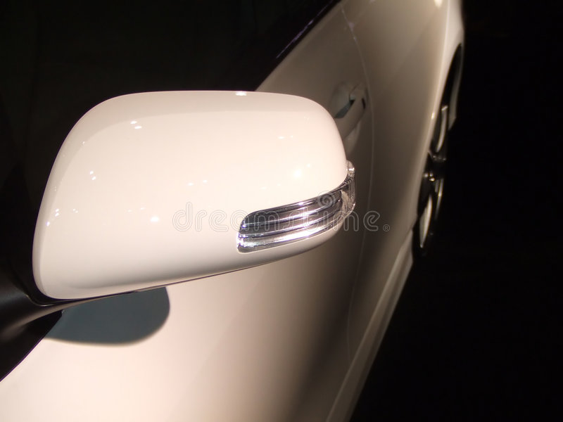 Sideview Mirror royalty free stock photos