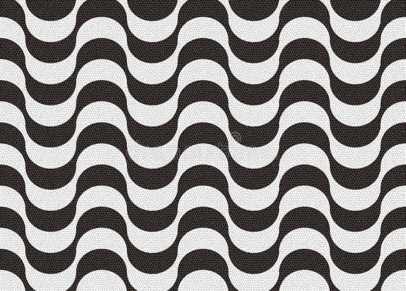 sidewak copacabana иллюстрация вектора