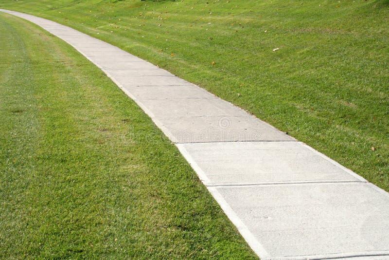 Sidewalk royalty free stock photo