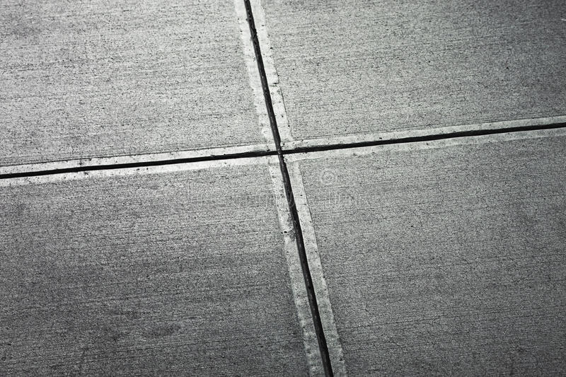 Sidewalk from above stock images