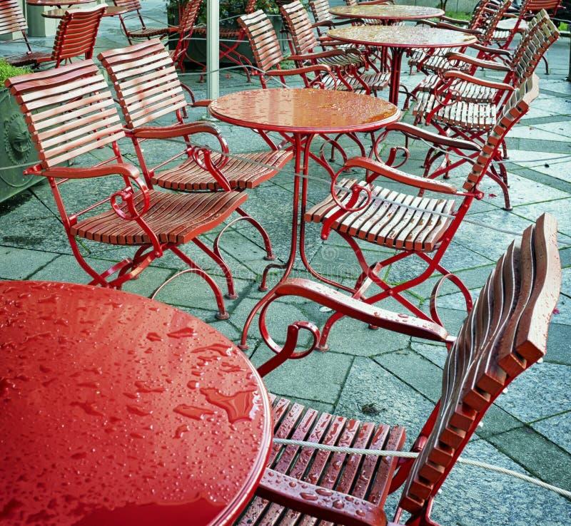 Sidewalk Cafe Royalty Free Stock Photo