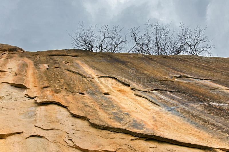 Download Sidewall Of An Ancient Sanctuary Stock Image - Image: 28218663