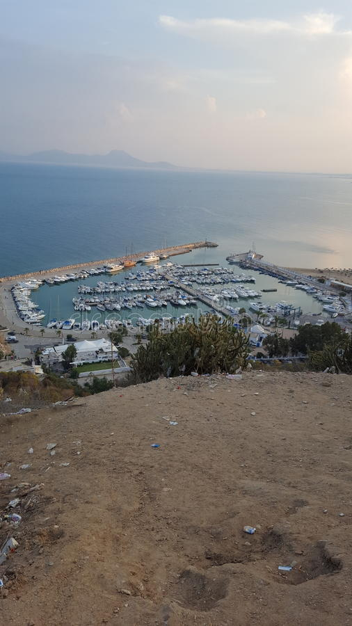 Sidi Bou сказало стоковые фотографии rf
