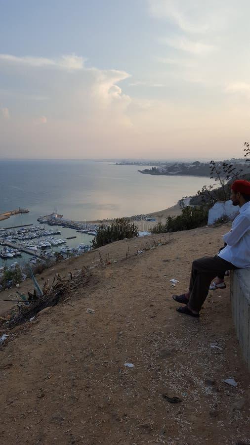 Sidi Bou сказало стоковая фотография