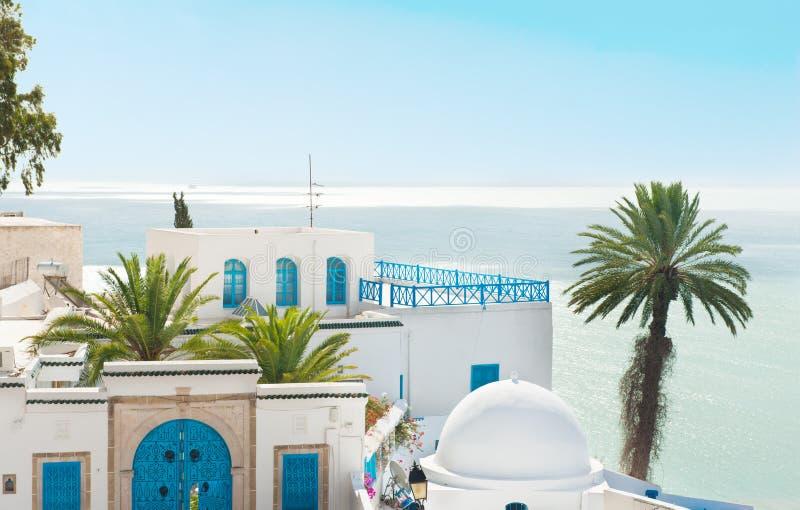 Sidi Bou a indiqué photographie stock