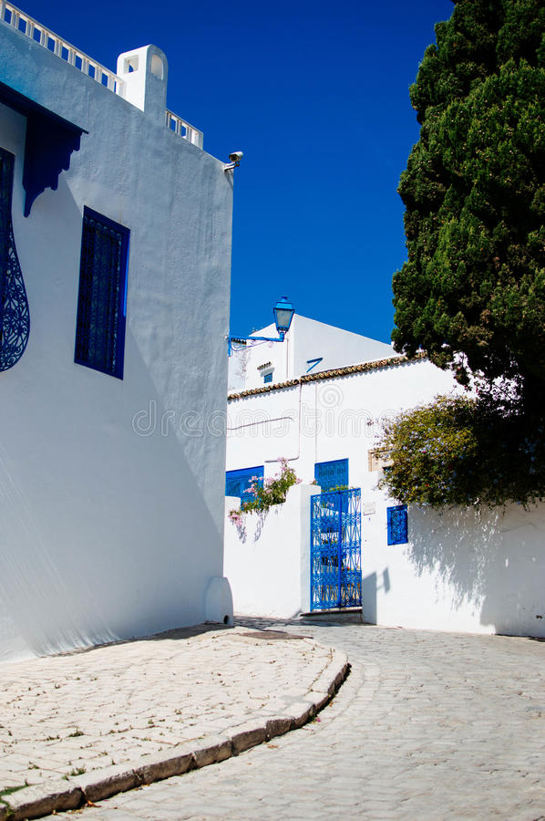 Sidi Bou Said fotografia de stock royalty free