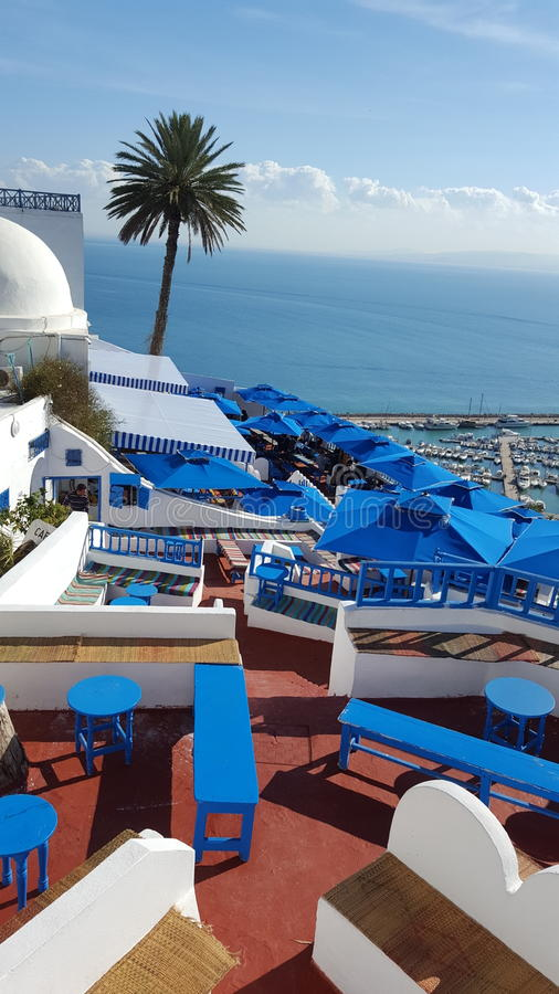 Sidi bou royalty free stock images