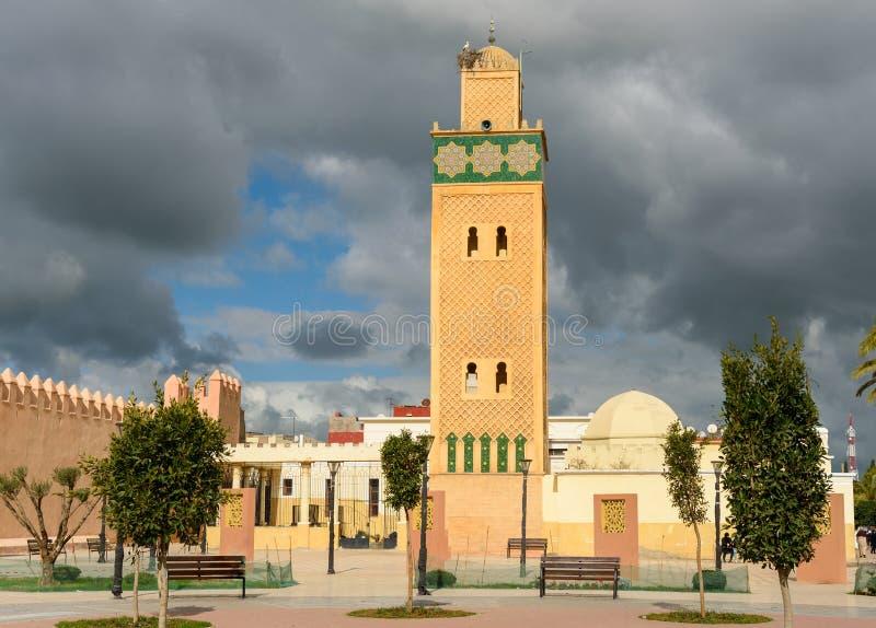 Sidi El Ghamli meczet w Settat Maroko fotografia stock