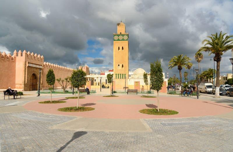 Sidi El Ghamli meczet w Settat Maroko obrazy stock