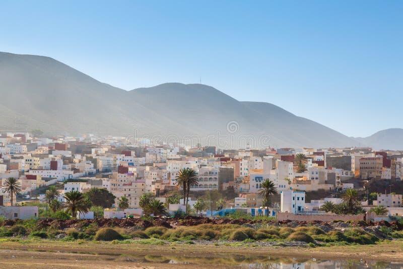 Sidi Ifni,摩洛哥看法  免版税库存图片