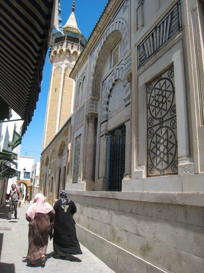 Sidi Youssef Moschee. Tunis. Tunesien lizenzfreie stockfotos