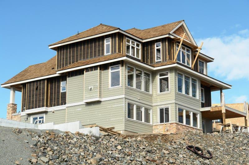 siding дома конструкции домашний стоковые изображения