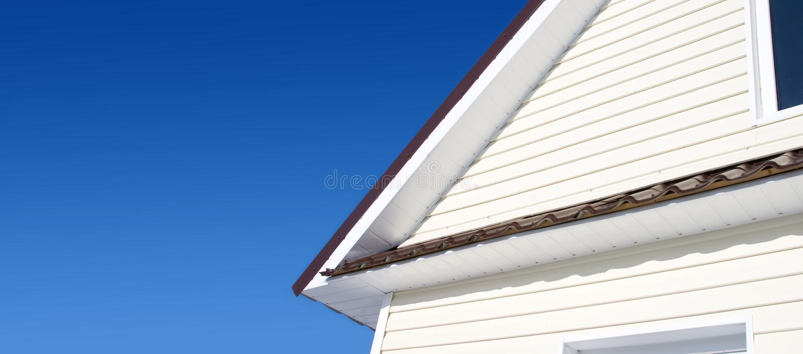 Download Siding stock image. Image of beaded, front, plank, flowed - 12788505
