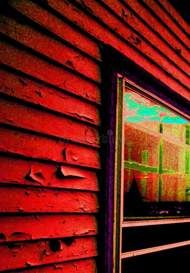siding popart дома стоковые фото