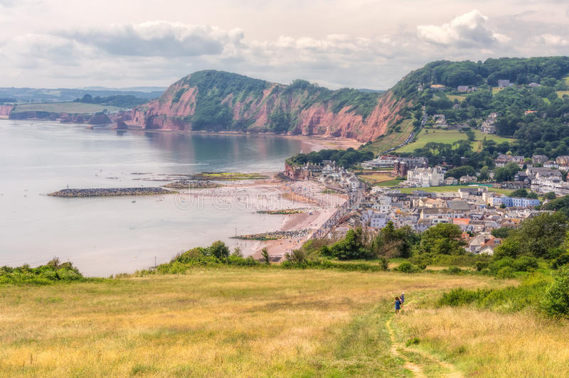 Sidmouth image stock