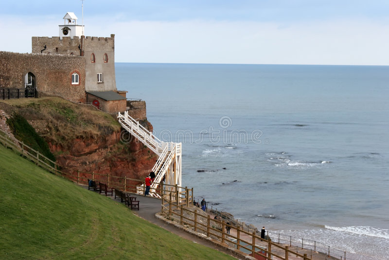 Sidmouth, Devon immagine stock libera da diritti