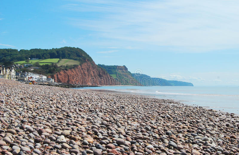 Sidmouth in Devon stockfoto