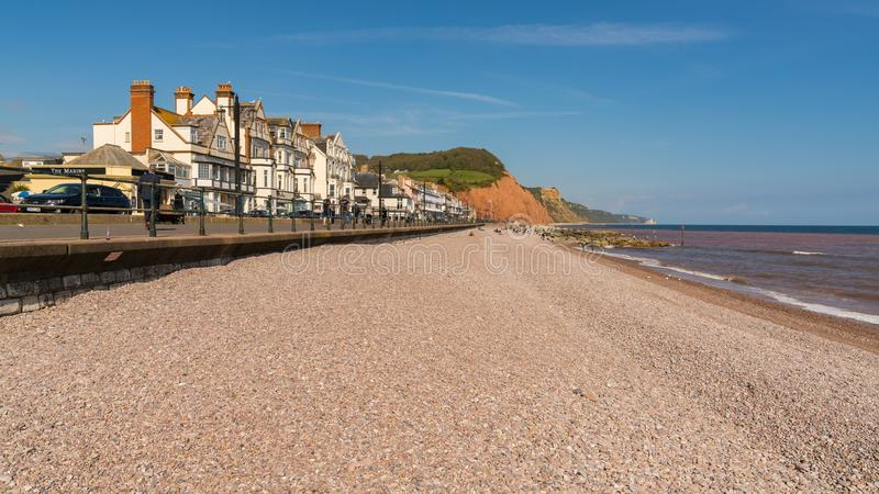 Sidmouth, Jurassic Coast, Devon, UK royalty free stock images