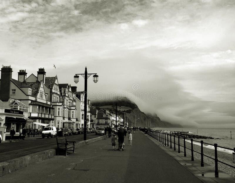 Sidmouth, Großbritannien lizenzfreie stockfotos