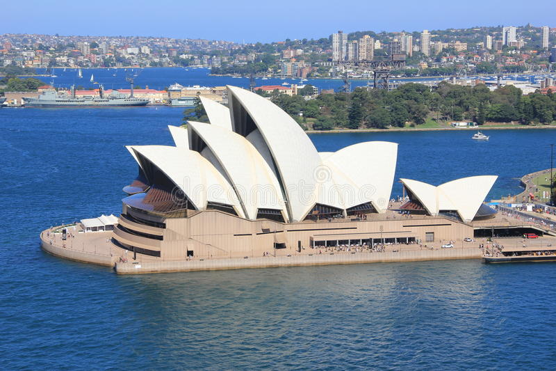 Sidney港口 免版税图库摄影