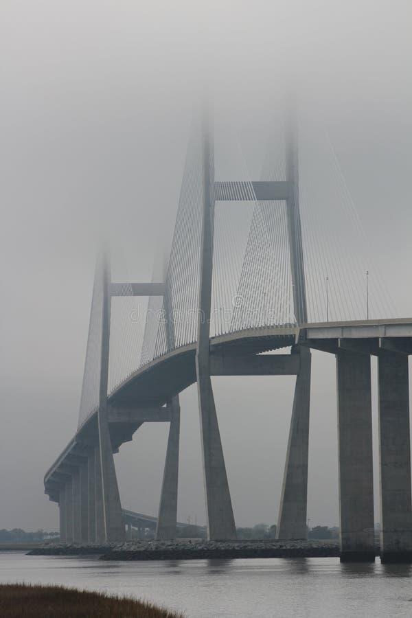 Sidney Lanier Bridge στοκ εικόνα με δικαίωμα ελεύθερης χρήσης