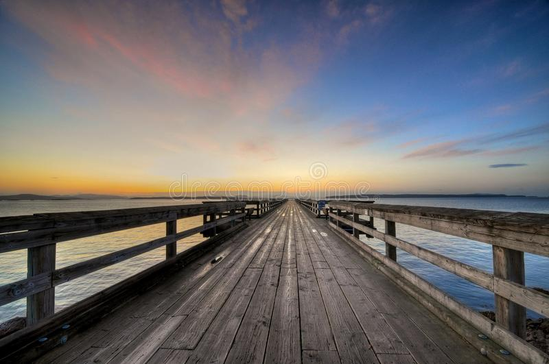 Sidney-Pier stockfoto