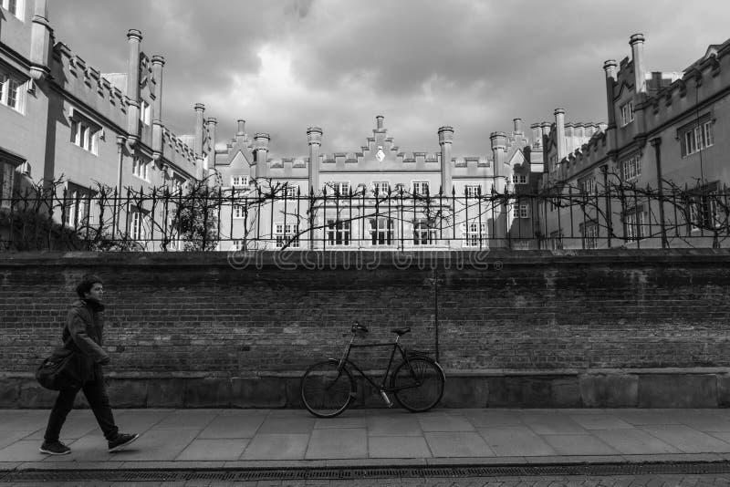 Sidney Sussex College en Cambridge central Reino Unido foto de archivo libre de regalías