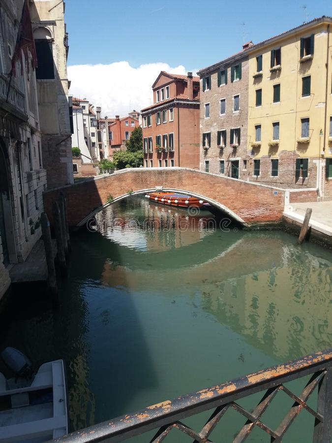 Sidogata ι Venedig στοκ φωτογραφία με δικαίωμα ελεύθερης χρήσης