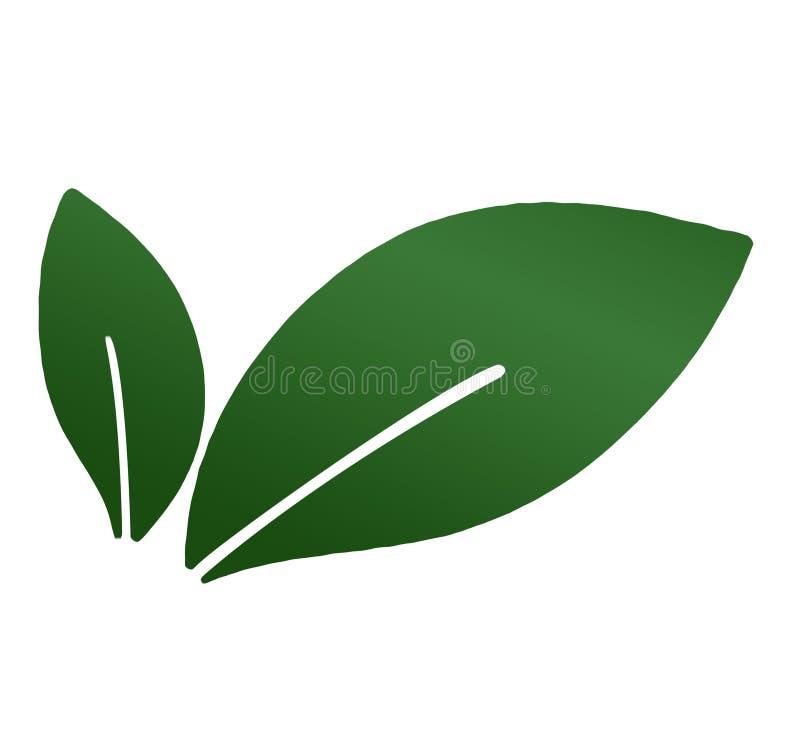 Sidor blad, v?xt, logo, ekologi, eco som ?r bio, folk, wellness, gr?splan, natursymbolsymbol, design, h?st, apelsin stock illustrationer