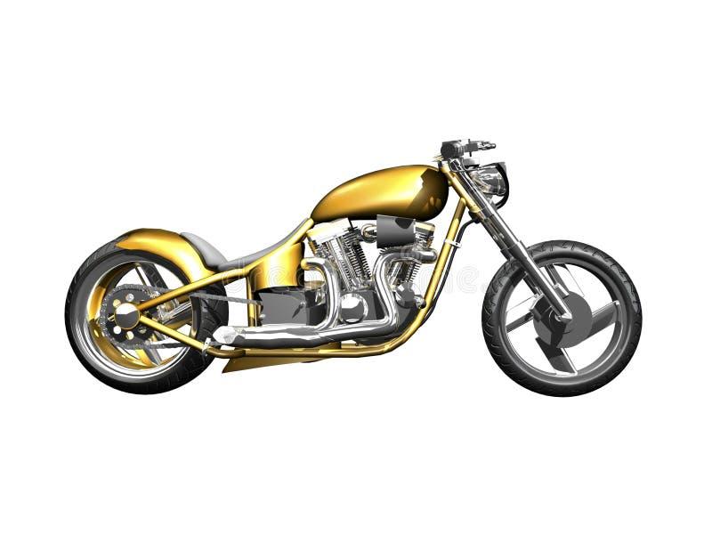 sidosikt för motorcykel 3d vektor illustrationer