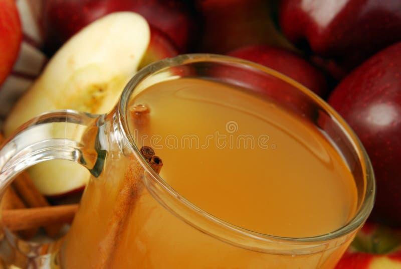 Sidra de manzana caliente fotos de archivo libres de regalías