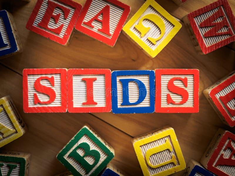 SIDS - Nagłej dziecięcej śmierci syndrom fotografia royalty free