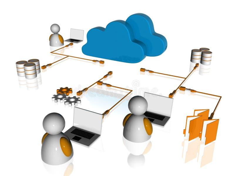 Sieć ilustracja wektor