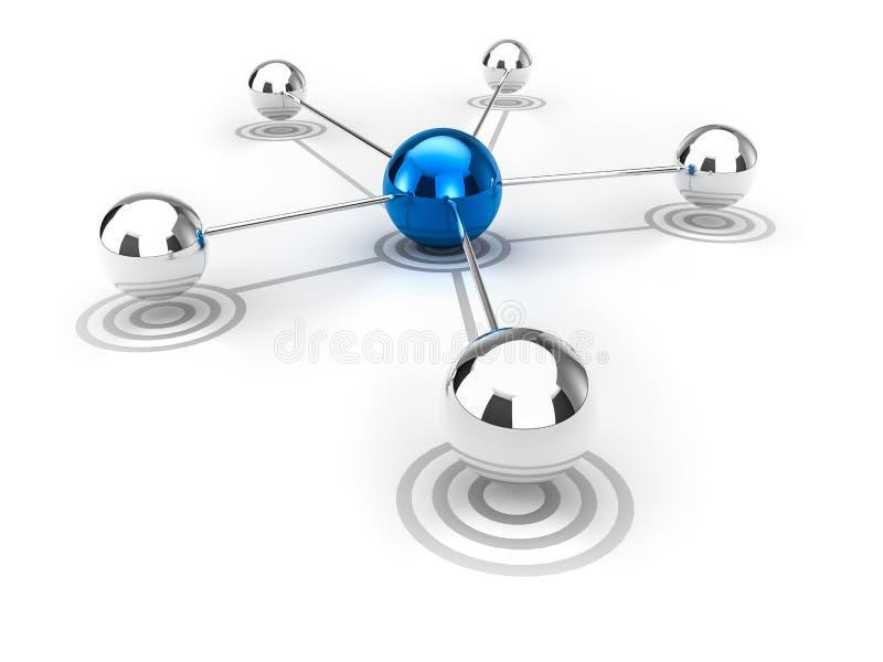 Sieć ilustracji