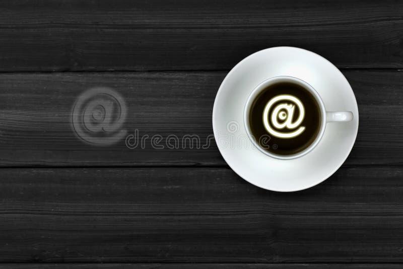 Sieć email @ obraz royalty free
