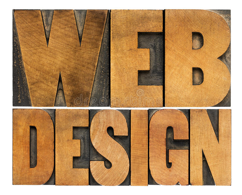 Sieć projekt w letterpress typografii zdjęcia stock