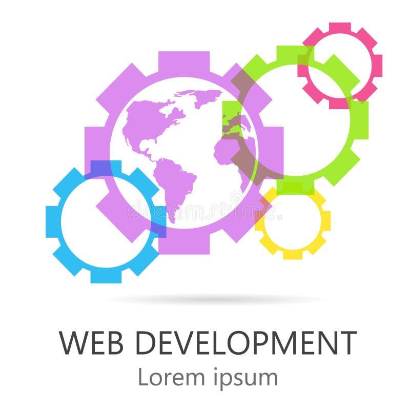 Sieć rozwój ilustracji