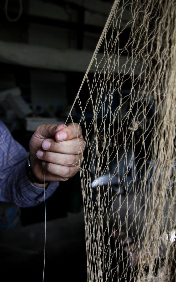 Sieć rybacka paching obraz royalty free