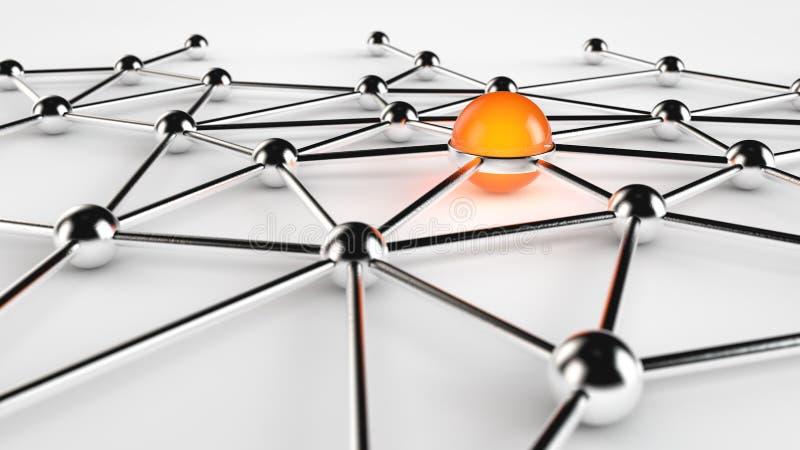 Sieć Serwer ilustracja wektor