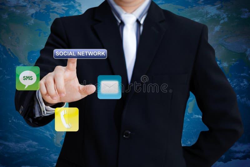 sieć socjalny obrazy stock