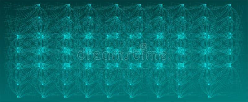 Sieć, tło, złudzenie, ulga, błękit, abstrakt, ilustracja, wektor jaskrawy, nowy, wyłączny, fundacyjny, coloured, ilustracja wektor
