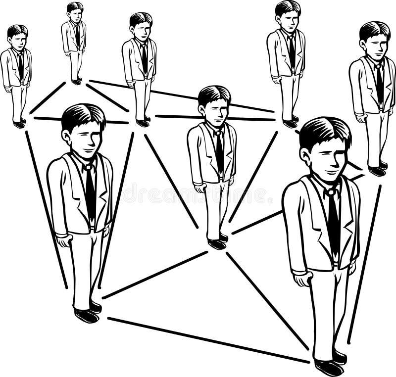 Download Sieć ilustracja wektor. Ilustracja złożonej z strategia - 28951642