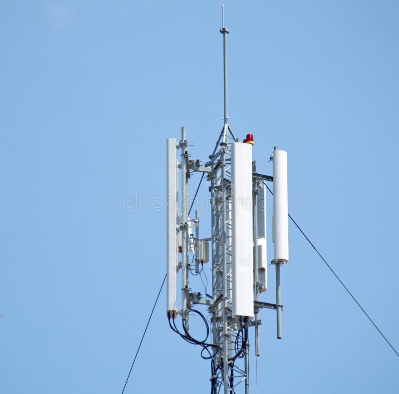 Download Sieć anteny zdjęcie stock. Obraz złożonej z stacja, prędkość - 2656502