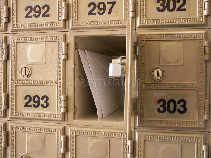 Sie haben Post lizenzfreies stockfoto