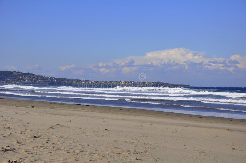 Sieben Meilen-Strand stockbild