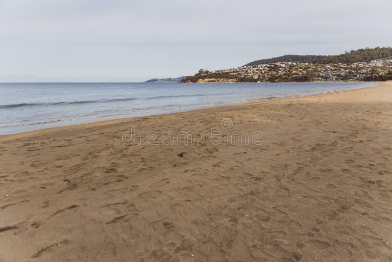 Sieben-Meilen-Strand in Tasmanien, Australien stockfoto