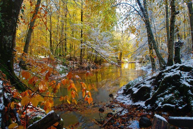 Sieben Seen parken in der Türkei stockfotos