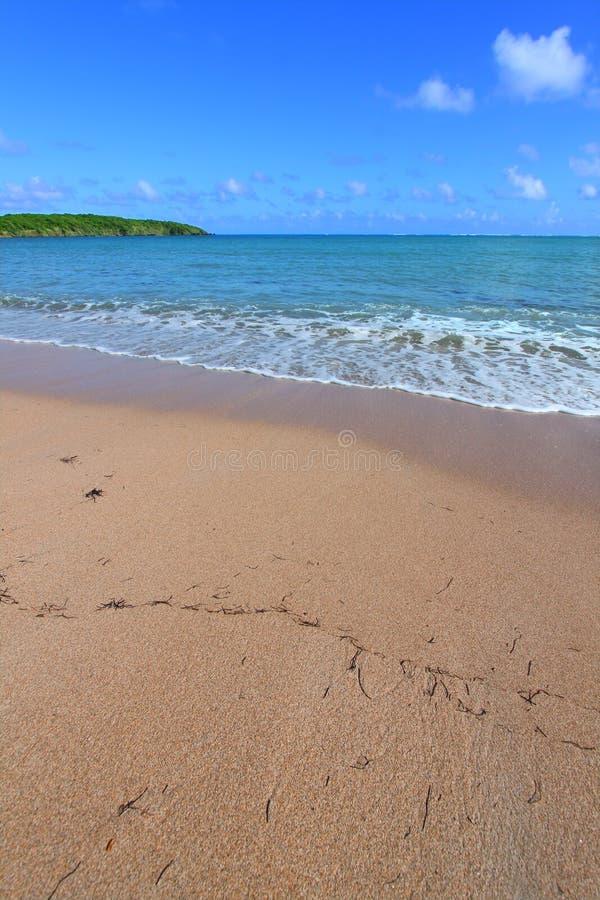 Sieben Seestrand - Puerto Rico Stockfoto
